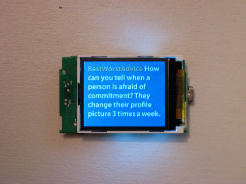 Online Inspiration Board Prototype