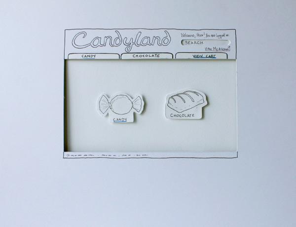 Candyland Web Site Prototype
